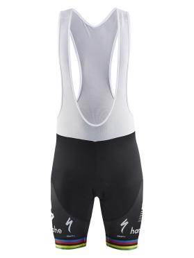 Craft Bora Hansgrohe Replica bib shorts world champion black