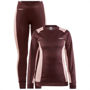 Craft Core Dry Thermo baselayer set red woman