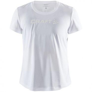 Craft Essence mesh jersey SS white woman