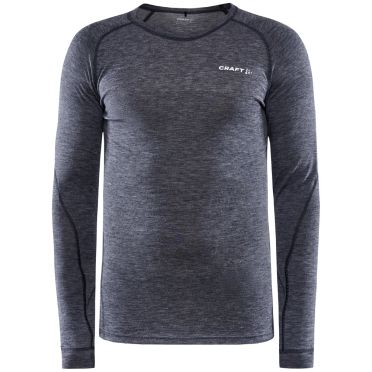 Craft Core Wool merino long sleeve baselayer gray men