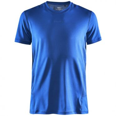 Craft Essence slim jersey SS blue men