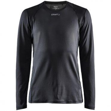 Craft Essence slim jersey LS black men