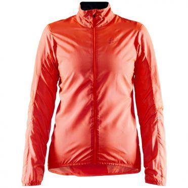 Craft Essence Light Wind cycling jacket pink woman