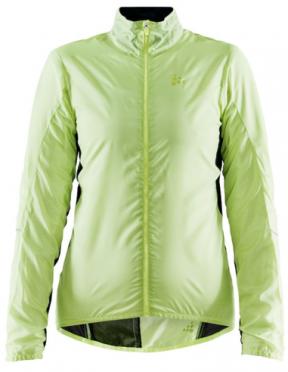 Craft Essence Light Wind cycling jacket yellow woman