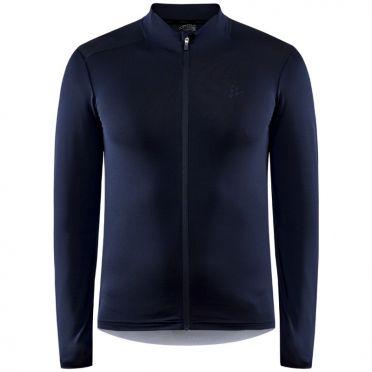 Craft Advanced bike Essence jersey long sleeve blue men