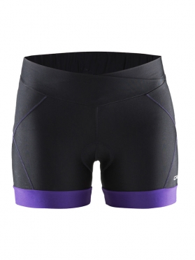Craft Move hot pants black/purple women