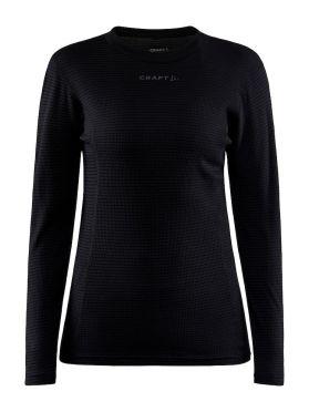 Craft Pro Wool Extreme X baseleyer long sleeve black woman