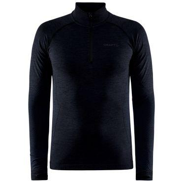 Craft Core Dry Active Comfort sweater half zipper black men