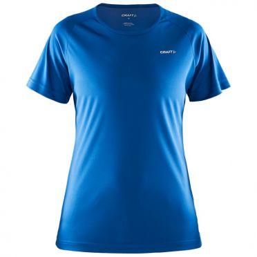 Craft Prime short sleeve running shirt blue women