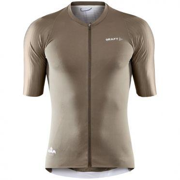CraftPro Aero jersey SS brown men