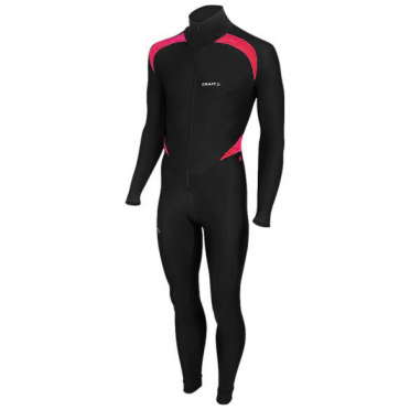 Craft Thermo skatesuit colorblock black/pink unisex