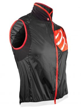Compressport Cycling hurricane wind protect vest black