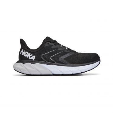 Hoka One One Arahi 5 running shoes black/white woman