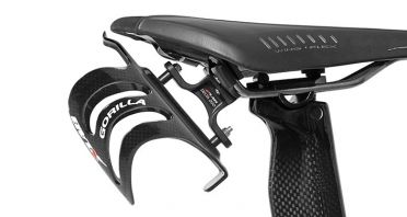 XLAB Delta 200 saddle bottle cage black