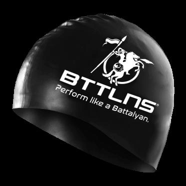 BTTLNS Silicone swimcap black Absorber 2.0