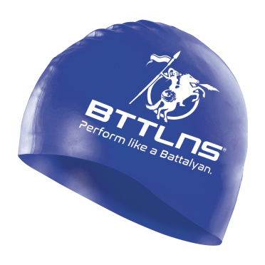 BTTLNS Silicone swimcap blue Absorber 2.0