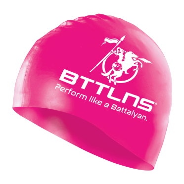 BTTLNS Silicone swimcap neon-pink Absorber 2.0