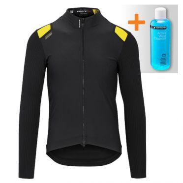 Assos Equipe RS spring fall jacket black men