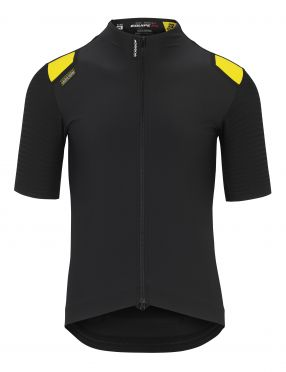 Assos Equipe RS Spring fall Aero cycling jersey black men