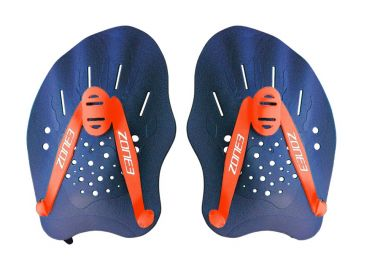 Zone3 Hand Paddles blue/orange