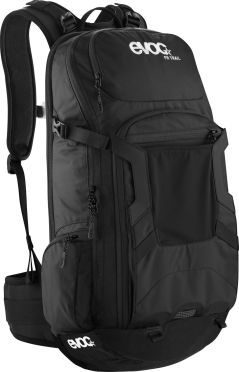 EVOC FR trail 20 liter black protector backpack