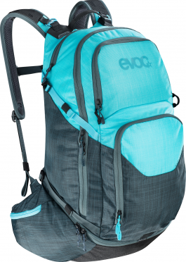 Evoc Explorer pro 30 liter backpack slate-neon blue