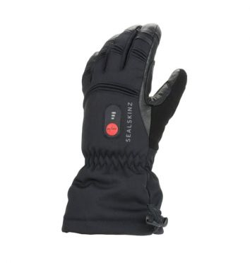 SealSkinz Exteme cold weather heated gauntlet black