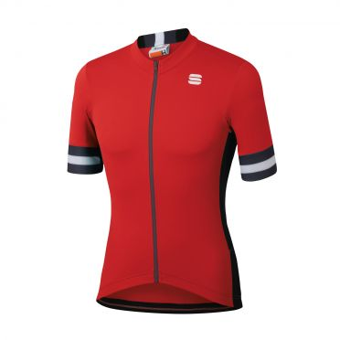 Sportful Kite jersey short sleeves red men