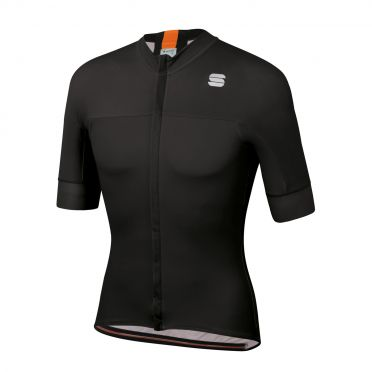 Sportful Bodyfit pro classic jersey short sleeves black/orange men