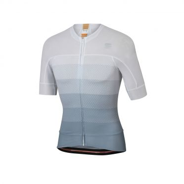 Sportful Bodyfit pro evo jersey short sleeves white/gray men