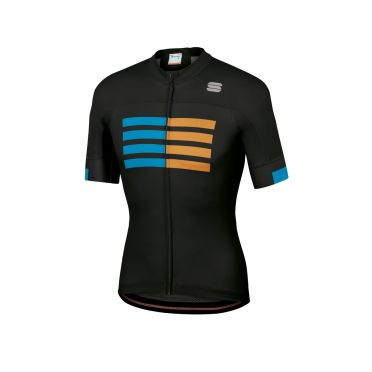 Sportful Wire jersey short sleeves black men