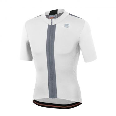 Sportful Strike jersey short sleeves white men