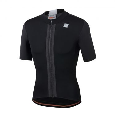 Sportful Strike jersey short sleeves black men