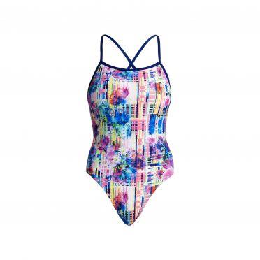 Funkita Alba wild tie me tight bathing suit women