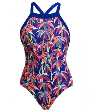 Funkita Bambamboo sky hi bathing suit women