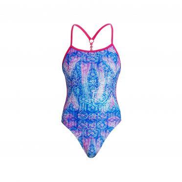 Funkita Dye tie twisted bathing suit women