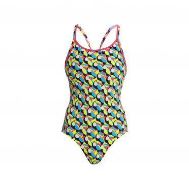 Funkita Toucan do it Eco diamond back bathing suit women