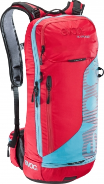 Evoc FR Lite race 10L Protector Backpack red/neon blue