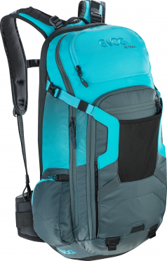 Evoc FR trail 20 liter slate-neon blue protector backpack