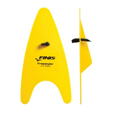 Finis Freestyler hand paddles yellow