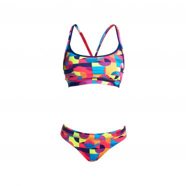 Funkita Mad mist Sports bikini set women