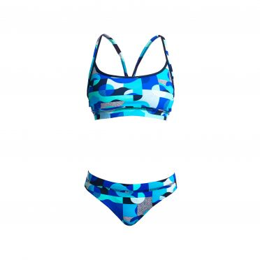 Funkita Sea Spray Sports bikini set women