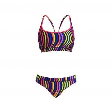 Funkita Squiggle piggle Sports bikini set women