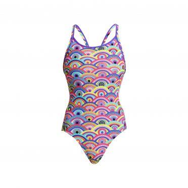 Funkita Eye candy diamond back bathing suit women