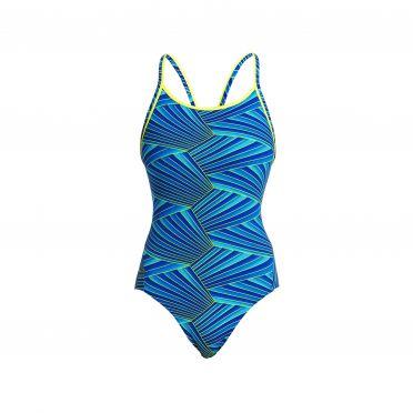 Funkita Streaker diamond back bathing suit women