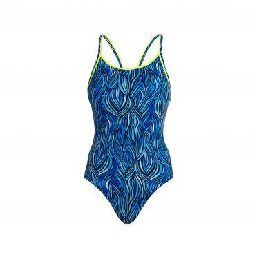 Funkita Wild hide diamond back bathing suit women