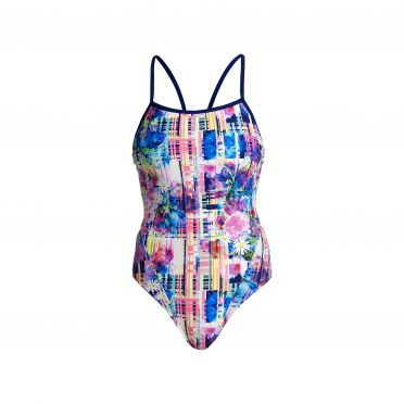 Funkita Alba wild single strap bathing suit women