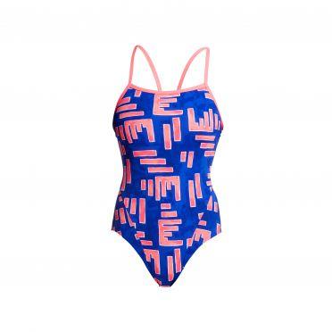 Funkita Hot rod single strap bathing suit women