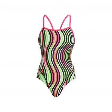 Funkita Tumble turn single strap bathing suit women