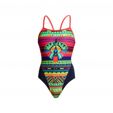 Funkita Wingspan single strap bathing suit women